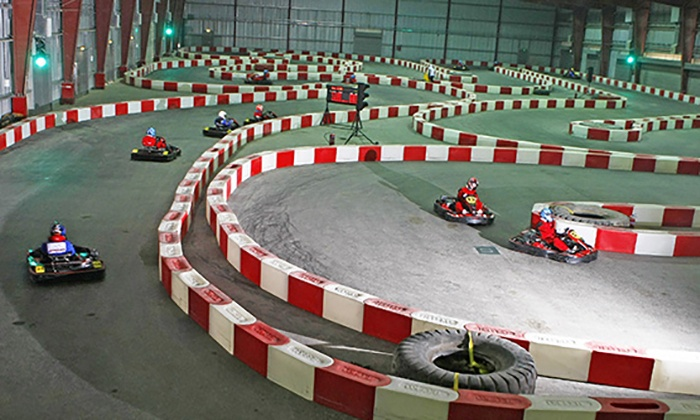 Indoor Karting, Laser Tag and Sim-Racing Package at Dubai Kartdrome