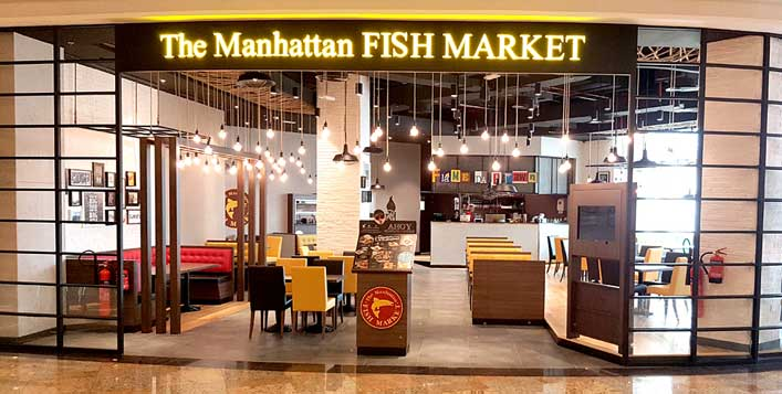The Manhattan Fish Market in Dubai